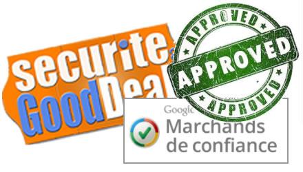 SecuriteGoodDeal.com obtient le statut de marchand de confiance Google